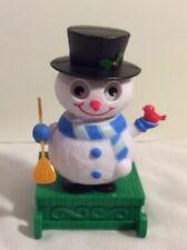 Fun Christmas Solar Dancer Happy Frosty Snowman Decoration Dashboard Toy
