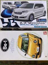 FUJIMI TOYOTA bB z/z Qversion And Bandai NISSAN Be-1 1/24 Model Kit #14350