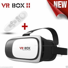 COMBO OFFER 3D VR Box 2.0 Virtual Reality Glasses Headset with VR Remote