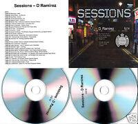 D.RAMIREZ Sessions 13 UK 30-trk promo test 2-CD Ministry Of Sound
