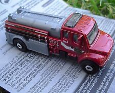 RED Freightliner M2 106 Fire Truck. MBX Heroic Rescue. DJV41. New-Loose