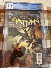 Batman #2 NEW 52 CGC 9.6