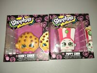 Shopkins Kooky Cookie And Poppy Corn Vinyl Collectible Age 3+