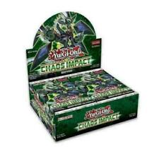 Chaos Impact Booster Box 1st Edition Factory Sealed New Yu-Gi-Oh! Pre-Order
