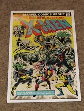 """12""""x18"""" HUGE Color Cover Print X-Men #96 Hand Signed by Chris Claremont"""