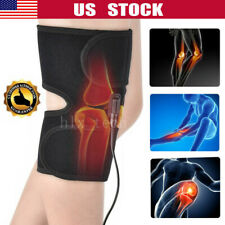 Electric Heated Knee Pad Arthritis Pain Relief Warm Therapy Leg Wrap Belt Brace