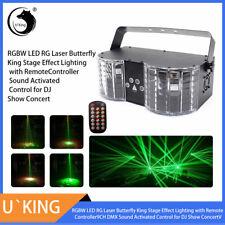 U`King RGBW LED & Laser Bühnenbeleuchtung DMX512 Remote Disco Party DJ Bar Licht