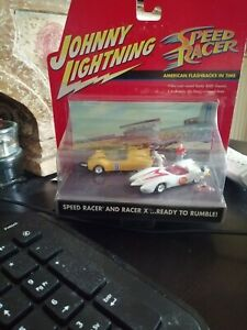 JOHNNY LIGHTNING (1:64) SPEED RACER AND RACER X - Ready to rumble!