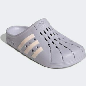 Adidas Adilette FY8968 Grey Unisex Adult Synthetic with EVA Footbed Clog BS30