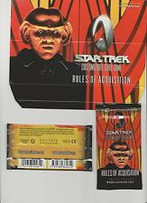 Star Trek CCG Rules Of Acquisition Booster