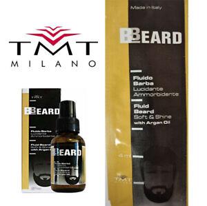 Beard Fluid Oil Soft & Shine with Argan oil 4ml TMT Milano