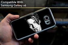 Leonardo Dicaprio Young Face Titanic BW Hard Case Fits Samsung Galaxy S6