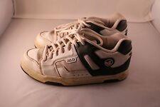 DVS Shoe Company Bexley White/Navy Blue Men's Shoes - Size 10.5 - PL-0934