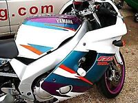 R&G RACING Crash Protector - Yamaha FZR600R  **WHITE**