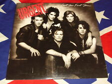 URGENT - cast the first stone  LP  AOR 1984