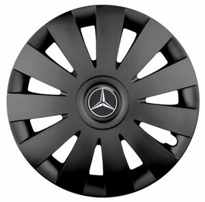 16'' Wheel trims Hub Cups for Mercedes Vito TAXI Sprinter Viano 4 x 16'' black