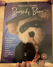 "Boyds Collection Dealer Advertising Poster ""Boogedy Boos� from Halloween 2000"