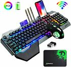 Best Wireless Keyboard And Mouses - Wireless Keyboard and Mouse Combo RGB LED Backlit Review