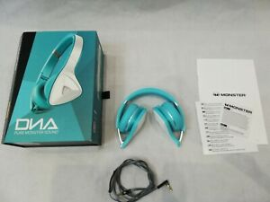 Monster DNA Tiffany Wired On-Ear Headphones for Music MP3 Sound Playlist