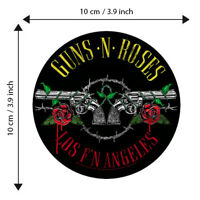 Guns N' Roses Patch Embroidered Patches Music Hard Rock Concert Official Gift