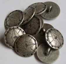 8pc 18mm Viking Escudo inspirado Estaño botón de metal de color de 0010