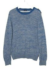 Mens Paul Smith  Crew Neck Jumper ,  Blue , XL   46in chest  , £65