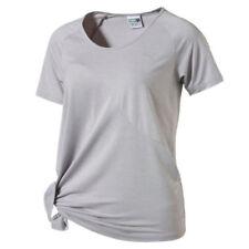 Abbigliamento sportivo da donna maglie grigi für fitness