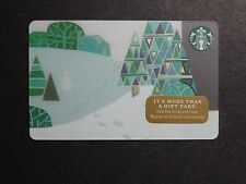 2014 - Footprints- Holiday Issue Starbucks Card - New & Never Swiped