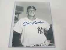 Mickey Mantle New York Yankees signed autographed 8x10 B&W photo  COA