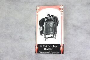 1931 RCA VICTOR TUBE RADIO Sales Advertising Flyer, Cathedral, RAE-59, RAE-79 +