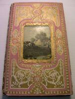 1874MOEURS ISRAELITES CHRETIENS+JOLI CARTONNAGE ROSE+LIVRE COUTUMES BOOK ORIENT