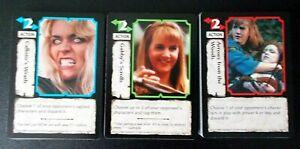 50 Xena Warrior Princess Battle Cry X2 CCG trading cards, no duplicates