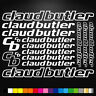 Claud Butler 16 Stickers Autocollants Adhésifs - Vtt Velo Mountain Bike Freeride