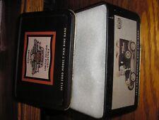 RARE Genuine Harley Davidson 1913 Ford Model T Van Dime Bank w/ collectible tin