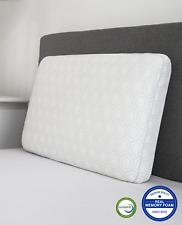 Sensorpedic SensorGel Luxury Gusseted Bed Pillow King Memory Foam White $150