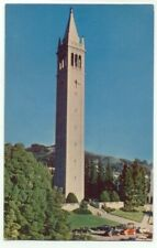University Of California Campanile Tower Postcard