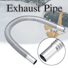 Stainless Steel Exhaust Pipe Car Parking Air Heater Tank Diesel Gas Vent Hose