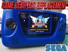 Sega Game Gear - LCD Replacement McWill Mod - New Screen & Recap, Repair