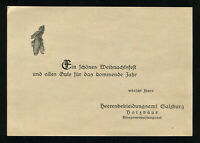 WW2 WWII Germany 3rd Reich Card Cover German Hitler Army Christmas Greetings