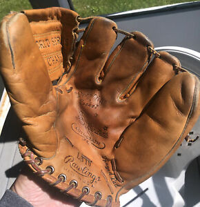 Rawlings World Series Champs Lew Burdette baseball glove USA Made