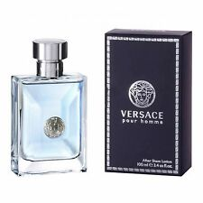 VERSACE  POUR HOMME 100ML AFTER SHAVE LOTION BRAND NEW & SEALED