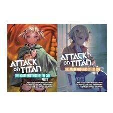 Attack on Titan THE HARSH MISTRESS OF THE CITY Series Paperback Set of Books 1-2