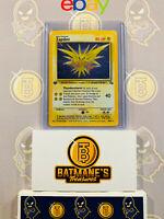 Zapdos 15/62 1st Edition NM Near Mint Fossil Set Holofoil Rare Holo Pokemon Card