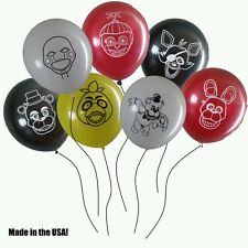 FNAF Five Nights At Freddy's Balloons - Lot of 14!