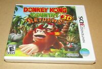 Donkey Kong Country Returns 3D (Nintendo 3DS) Brand New / Fast Shipping