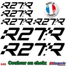 6 Stickers Autocollants Renault Sport R27R 20cm - Clio Megane Twingo - 048
