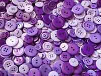 LOT 45 BOUTON VIOLET MAUVE SCRAP SCRAPBOOKING COUTURE LAYETTE DÉCORATION TRICOT