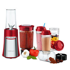 CUISINART Compact Portable Blending/Chopping System Red RRP $159.95 SAVE