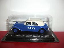 citroën traction 11 saigon 1955  voiture taxi du monde altaya 1/43
