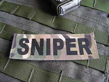SNAKE PATCH -- SNIPER multicam -- Tir ghillie airsoft lunette
